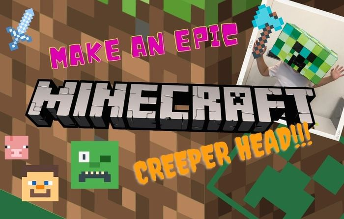 Make a Simple but Awesome Real Life Minecraft Creeper Head
